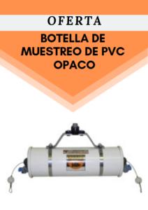 Botella de muestreo de PVC OPACO