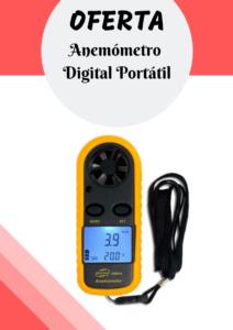 Anemómetro Digital Portátil